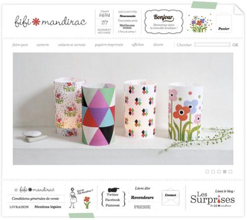 Boutique en ligne Fifi Mandirac