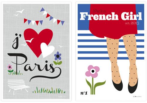 Affiche J'aime Paris