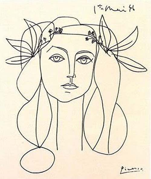 Line Drawing By Pablo Picasso : Picasso archives les surprises de fifi mandirac