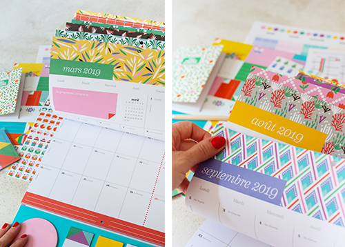 Pages Calendrier Motifs